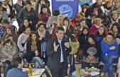 Massa sigue su campaña fuerte en el Conurbano profundo