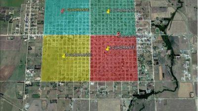 Cnel Pringles / La provincia realizó la mesura de terrenos más importante de la historia