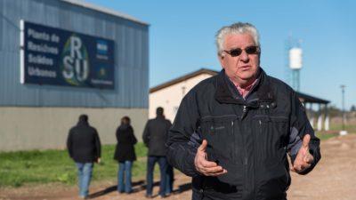 Capitán Sarmiento / Ostoich visitó la planta de residuos sólidos urbanos