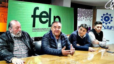 Los candidatos de Alternativa Vecinal Platense presentaron sus propuestas ante la FELP