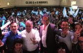 """Scioli reapareció en Florencio Varela e hizo bandera de su lealtad """"Mi compromiso es inalterable"""""""