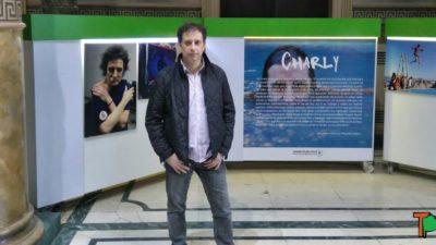 """Vernazza: """"Con mis fotos quiero que la gente vea lo buen tipo que es Charly"""""""
