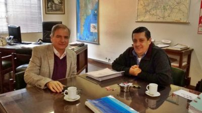 Guaminí / Alvarez solicitó ante vialidad la repavimentación de la ruta 85