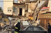 Se derrumbó un hotel en Santa Teresita