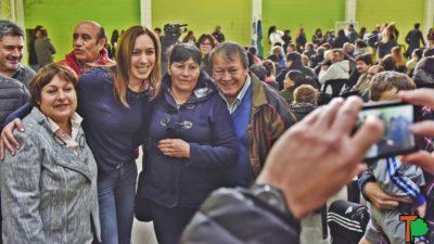 Vidal se puso la campaña al hombro y subió en sus espaldas a Toty Flores y Graciela Ocaña