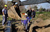 Garro inauguró una obra que llevará agua potable a más de 100 mil vecinos de La Plata