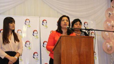 Con Karina Moyano a la cabeza, mujeres de la Federación de Camioneros homenajearon a Eva Perón