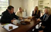 Montenegro y Píparo juntos en una actividad de campaña con el foco en Seguridad