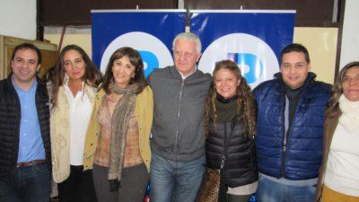 """Tundis y Sarghini en Pilar: """"Recorremos la provincia contando nuestras propuestas"""""""