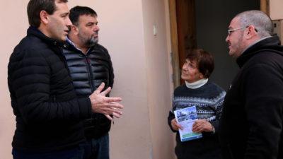 """La Plata / Garro: """"Escuchar a los vecinos y es parte de este cambio"""""""