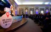 """La Plata / Pergolini disertó en el encuentro de la red """"Ciudades Creativas"""" ante un colmado Pasaje Dardo Rocha"""