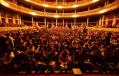 Más de 800 alumnos desfrutaron del musical de Belgrano en el Coliseo Podestá