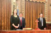 """Vidal presentó a sus nuevos ministros y destacó: """"Se consolida la idea de equipo"""""""