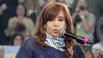 """Cristina en La Plata: """"Las elecciones no se empatan, se pierden por un voto"""""""