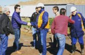 25 de Mayo / Rallinqueo visitó el obrador de la estación transformadora que llavará una inversión de 1000 millones de pesos