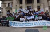 En Mar del Plata el espacio intersindical rechazó la adhesión a la Ley de Riesgo de Trabajo