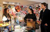 Pablo Sívori visitó a comerciantes de Hurlingham junto a la diputada Verónica Barbieri