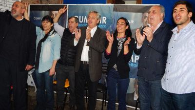 La lista de Di Marzio y Lambertini festejó tras el triunfo en las PASO de Cumplir en La Plata