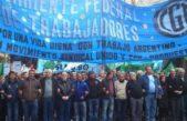 La Corriente Federal exige que se concrete la movilización a Plaza de Mayo y tambalea el triunvirato de la CGT