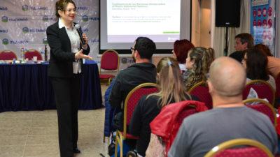 Desde el OPDS recorren las provincia brindando educación ambiental a docentes
