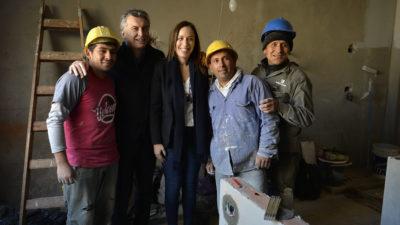 """Macri y Vidal anunciaron el programa """"Casas de Encuentro Comunitario"""""""