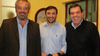 """Rojas / Montenegro visitó la ciudad y afirmó """"es clave que se incorporen nuevas tecnologías"""""""
