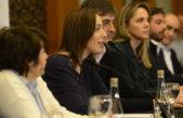 Conferencia de Vidal: Habló del conteo de votos y de Fondo Conurbano, su caballito de batalla