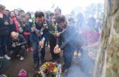 Mercedes / Con la presencia del embajador de Bolivia se celebró la Pachamama