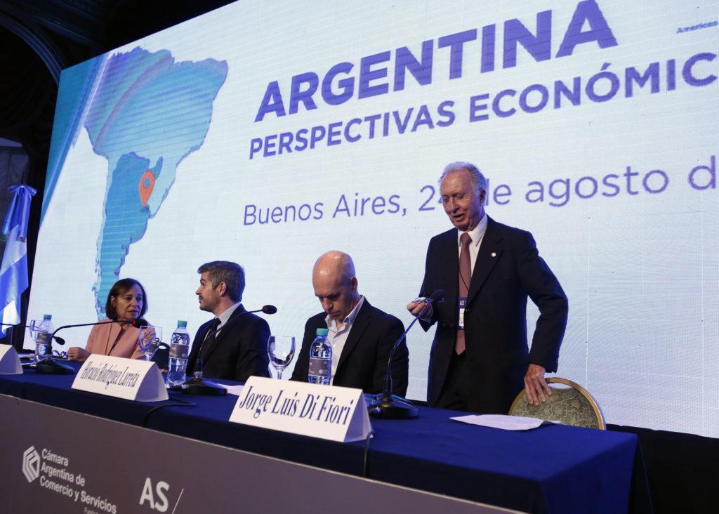 Segal, Peña, Rodríguez Larreta y Di Fiori