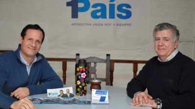 Lomas de Zamora / El randazzista Reynoso acompañará al candidato de #1País, Ramiro Trezza