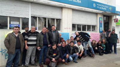 El Delegado de Villa Elisa se negó a hablar con los gremios y abandonó el Centro Comunal