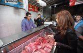 """Alte Brown / CFK visitó almaceneros y remarcó """"lo más preocupante de la crisis es la caída del consumo de comida"""""""