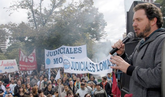 Vidal sigue sin cerrar la paritaria con los judiciales que comienzan un nuevo paro en toda la Provincia