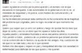 Alvarenga agradeció a la provincia por buscarlo y asumió que tiene problemas personales