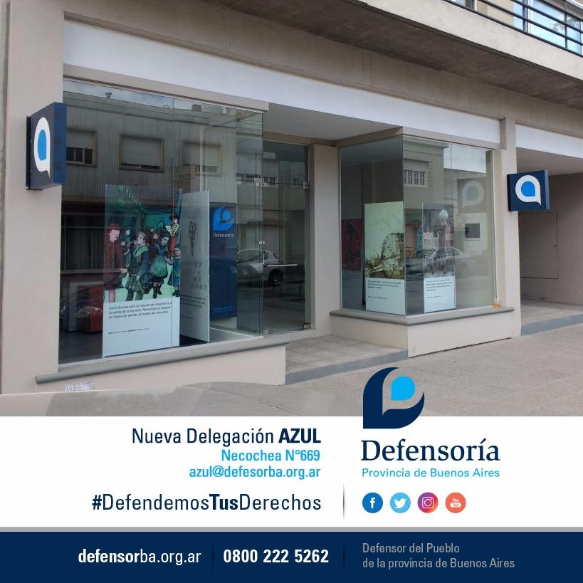 La defensoría del pueblo sigue descentralizando y abrirán una nueva sede en Azul