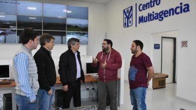 Chivilcoy / Britos creó una Multiagencia 911 con tecnología de última generación
