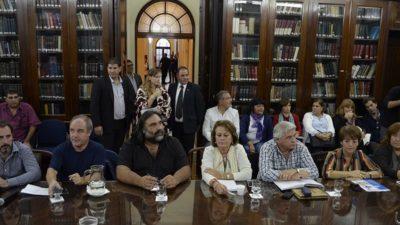 Docentes piden reunión urgente con Sánchez Zinny