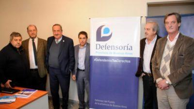 Lorenzino inauguró una sede de la Defensoría del Pueblo en Tandil