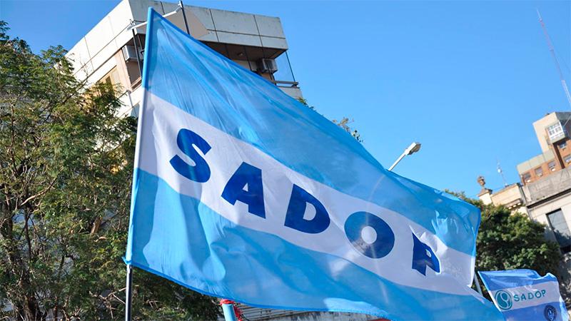 Jornada de protesta de SADOP por paritarias y un convenio colectivo para el sector
