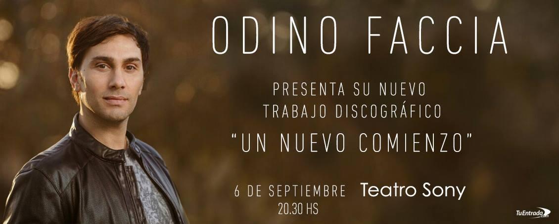 """ODINO presenta el disco """"Un Nuevo Comienzo"""" en el Teatro SONY con grandes sorpresas"""