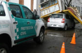 La Plata / Tras el fuerte temporal el municipio mantiene un intenso operativo de monitoreo y asistencia