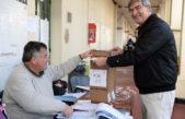 """La Plata / Votó Mor Roig y dijo """"Hoy es un día de reafirmación de derechos"""""""