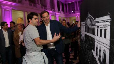 """La Plata festejó el 130º aniversario del pasaje """"estamos poniendo de pie el edificio"""""""