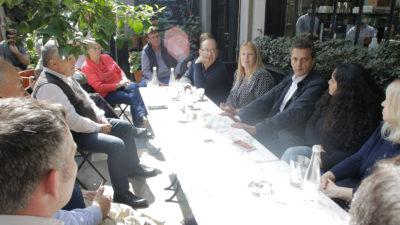 """Massa y Stolbizer visitaron Campana y convocaron a """"construir la Argentina que soñamos"""""""