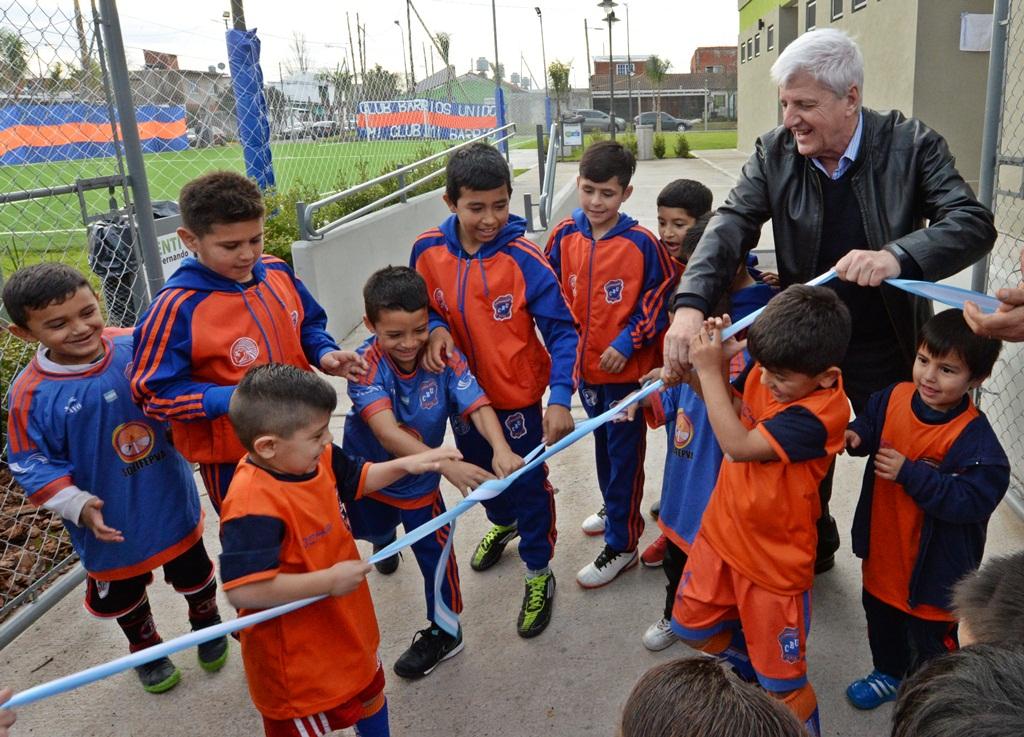 """San Fernando / Andreotti apuesta a la inclusión social e inauguró el Club """"Barrios Unidos"""""""