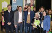 La Plata / Van Torren y Garro entregaron escrituras sociales y la SST superó las 30 mil en un año y medio