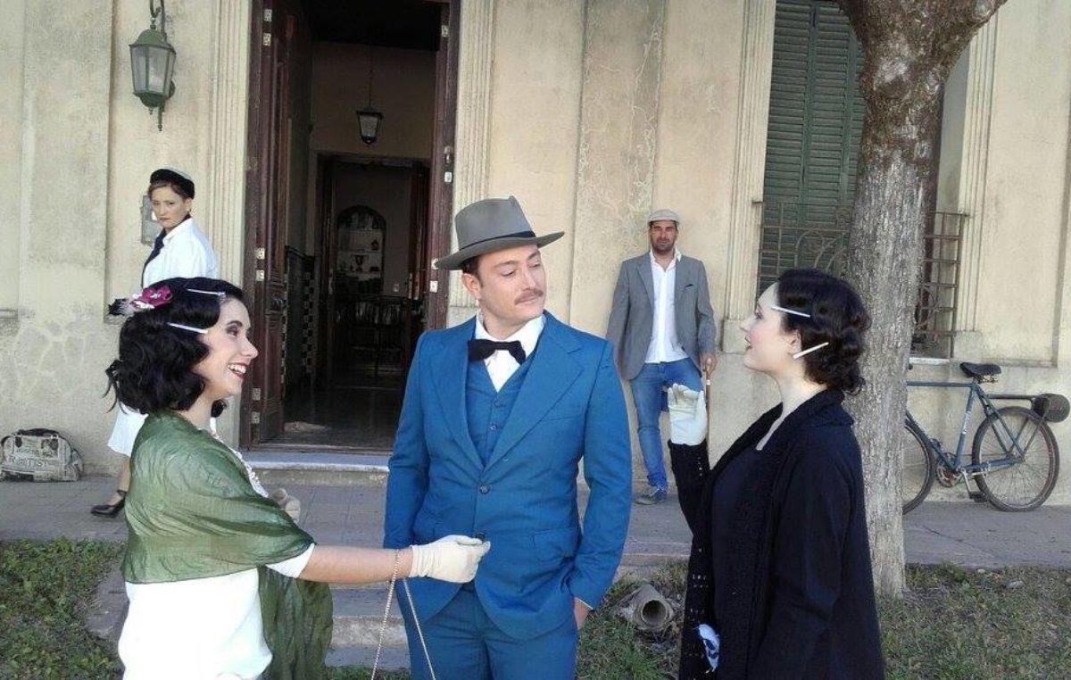Saavedra / Se filma en Pigüe una serie sobre Herminia Brumana