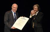 Lavagna fue condecorado con el Honoris Causa en la UNSAM
