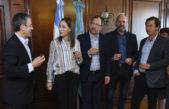 Vidal brindó por el año nuevo judío junto a dirigentes de la AMIA, DAIA y entidades israelitas