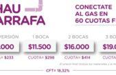 Gral Rodríguez / El municipio lanza un Programa para conectarse al gas en 60 cuotas